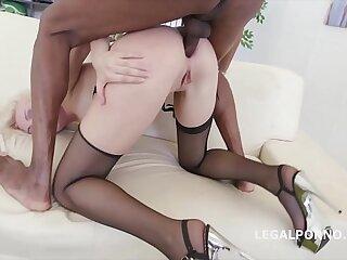 5on1 Interracial Extreme DAP Balls Deep Anal for Bree Haze
