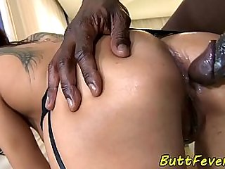 Eurobabe assfucked and analcreampied