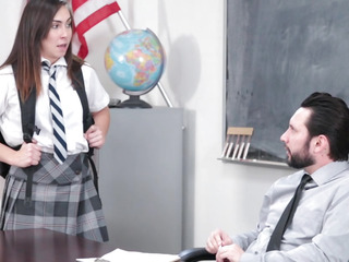 InnocentHigh menacingmenacing Hawt SchoolGirl Copulates Her WAY Out Of Trouble
