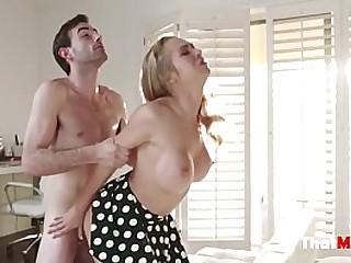 MILF Fucks young cock
